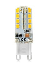 3W Luces LED de Doble Pin T 32 SMD 2835 240-270 lm Blanco Cálido Blanco Decorativa V 1 pieza G9