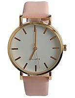 Жен. Модные часы Наручные часы Японский Кварцевый / PU Группа Повседневная Элегантные часы Розовый