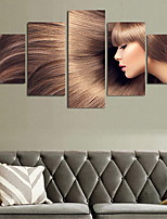 Five Panels Horizontal Print Wall Decor For Home Decoration