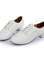 Da uomo Balli latino-americani Finta pelle Sneakers Addestramento Tacco su misura Bianco 2,5 - 4,5 cm Personalizzabile