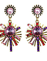 Belly Dance Jewelry Women's Performance Alloy Crystals/Rhinestones 2 Pieces Earrings