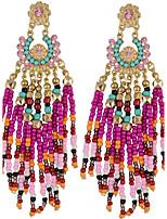 Drop Earrings Women's Euramerican Fashion Statement Luxury Tassel Bohemian Earrings  Party Daily Movie Jewelry