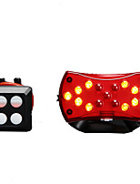Wireless Remote Control Steering Taillight Usb Charging Bike Laser Taillights Dual Mode Intelligent Turn Signal