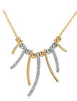 Femme Pendentif de collier Forme Géométrique Alliage Mode Personnalisé Simple Style Bijoux PourMariage Soirée Anniversaire Fiançailles