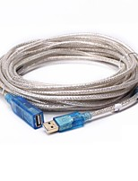 DTech USB 2.0 Extension Cable USB 2.0 to USB 2.0 Extension Cable Male - Female 30.0m(90Ft)