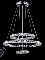 Dimmable Modern Chandelier LED Lighting Indoor Modern Ceiling Pendant Lights Chandeliers Fixtures with Remote Control
