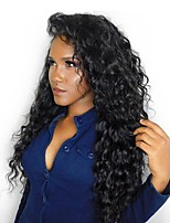 Hot Natural Curly Lace Front Human Hair Wigs-Glueless 130% Density Brazilian Virgin Lace Wigs with Baby Hair For Black Woman 10-26 Inches