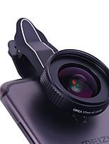 Lente de telefone celular orea Alcance de grande angular de 17mm com um clipe de cauda de cauda lente externa distorção
