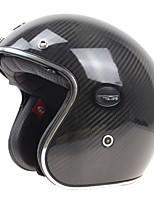 Каска Износоустойчивый Легкий вес Высокое качество Углеволокно + пенополистирол Каски для мотоциклов