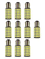 4W 1157 BAY15S PY21W 120SMD2835 Turn Signal Lamp for Car White DC12V 10Pcs