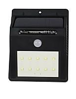 Y-solar 10 llevó la lámpara de pared solar con el sensor ligero de la luz del sensor de movimiento ligero impermeable llevó la iluminación