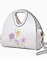 Women Bags All Seasons PU Tote with Zipper for Casual Office & Career White Black Blushing Pink