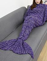 Tricotado Sólido 100% Acrílico cobertores