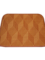Cat Dog Bed Pet Mats & Pads Solid Brown
