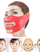 Máscara de rosto fina de silicone 3d v-line elevação cinto de bandagem de rosto cintura facial queima facial queima de pele musculatura