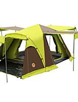 CAMEL 3 a 4 Personas Tienda Doble Carpa para camping Tienda de Campaña Automática Bien Ventilado Impermeable A prueba de polvo Plegable
