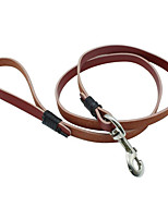 Leash Portable Breathable Safety Solid PU Leather
