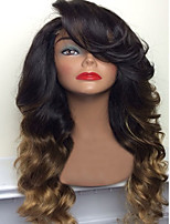 P2/27 Chestnut Brown Body Wave Human Hair Wigs With Baby Hair For Black Women Glueless Lace Front Wigs Cheap On Sale