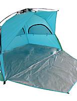2 Personas Tienda Solo Carpa para camping Tienda de Campaña Plegable Impermeable Resistente al Viento Filtro Solar Protección Solar