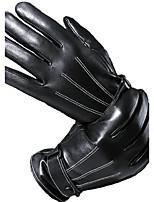 Для мужчин Защита от ветра Водонепроницаемый Сохраняет тепло Высокое качество Мода Рабочие перчатки На открытом воздухе Спорт До запястья