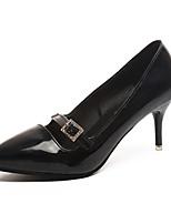Mujer Tacones Zapatos formales PU Otoño Fiesta y Noche Vestido Paseo Pedrería Tacón Stiletto Negro Beige Rosa 5 - 7 cms