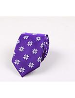 Homme Décontracté Polyester Cravate,Imprimé Toutes les Saisons