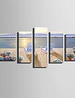Холст для печати 5 панелей Холст Вертикальная С картинкой Декор стены For Украшение дома