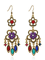 Women's Earrings Set Basic Vintage Hypoallergenic Rhinestone Alloy Jewelry For Gift Evening Party Stage Club Street
