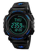 SKMEI Hombre Reloj Deportivo Reloj Militar Reloj de Moda Reloj de Pulsera Reloj creativo único Reloj digital Japonés Digital LED Compass