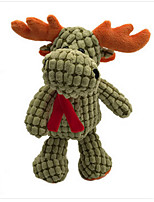 Stuffed Toys Elk Plush Fabric