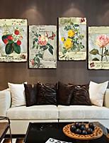Toile Quatre Panneaux Toile Imprimé Décoration murale For Décoration d'intérieur