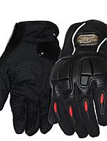 Dedos completos Fibra de Carbono Guantes motocicletas