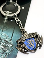 Inspired by Game of Thrones Snow Villiers Anime Cosplay Accessories KeyChain Alloy