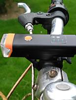 Передняя фара для велосипеда LED LED Велоспорт На открытом воздухе Подсветка Люмен USB Натуральный белыйПовседневное использование