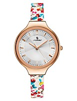Жен. Спортивные часы Модные часы Японский Кварцевый Защита от влаги Натуральная кожа Группа Повседневная Разноцветный