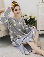 Nuisette & Culottes Vêtement de nuit Femme,Imprimé Motif Animal Coton