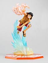 Las figuras de acción del anime Inspirado por One Piece Monkey D. Luffy PVC CM Juegos de construcción muñeca de juguete