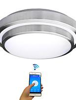 Jiawen a conduit wifi plafonniers sans fil 18w éclairage intérieur intelligent avec application télécommande ac85-265v