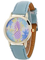 Women's Fashion Watch Wrist watch Casual Watch Chinese Quartz PU Band Casual Black White Blue Brown Green Pink Rose
