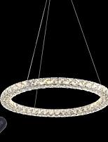 Современные кольца хрустальные потолочные подвесные светильники привели хрустальные люстры светлые светильники внутреннего освещения
