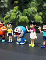 DIY Automotive  Pendants  Cartoon Anime Dora A Dream  Mechanical Doll Set  Car Pendant & Ornaments  Plastic