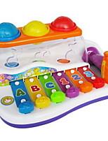Игрушечные инструменты Прямоугольный Квадратный Музыкальные инструменты Пластик Жесткийпластик