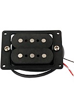 3 String Alnico 5 Cigar Box Guitar Pickup Part with 9.3K Resistance