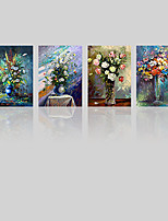 Canvas Print Four Panels Canvas Vertical Panoramic Print Wall Decor For Home Decoration