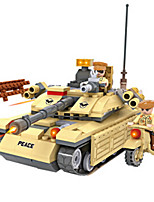 Building Blocks For Gift  Building Blocks Tank ABS 6 Years Old and Above Toys