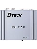 DTech HDMI 1.4 Converter HDMI 1.4 to VGA 2RCA Converter Female - Female