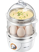 Bear ZDQ-2151 Egg Cooker Double Eggboilers Health Care Mini Style Power light indicator Detachable Timing Function Upright Design 220V