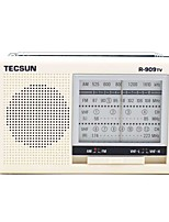 R-909TV Radio portatil Radio FM Despertador Blanco