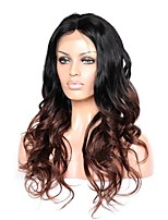 Premier® New Celebrity Style Brazilian Human Hair Wigs Body Wave Glueless Lace Front Wig For Women