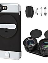 Ztylus 2x téléobjectif lentilles pour caméras intelligentes 0.63x grand angle pour iphone6 / 6s / 6plus / 6s plus